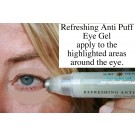 Refreshing anti puff eye gel (inside a roller ball pen)