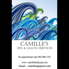 Gift Certificates and Menu of Camille's Spa & Salon Services.